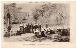 BRETAGNE -  La Messe -  Tableau De TH. Deyrolle - Karten Bost -  Collection E. Hamonic - Bretagne