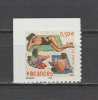 FRANCE / 2003 / Y&T N° 3578 ** Ou AA 35 **: Mère & Enfants Sur La Plage (de Carnet) - état D'origine - France