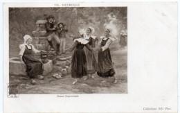BRETAGNE -  Danse Improvisée -  Th. Deyrolle -  Dos Simple - Bretagne