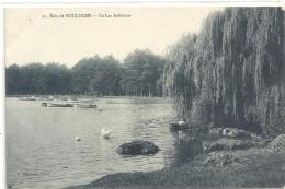 .23. BOIS DE BOULOGNE - LE LAC INFERIEUR . CARTE NON ECRITE - Boulogne Billancourt