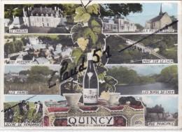 QUINCY (18) Multivues De Cette Belle Région - France