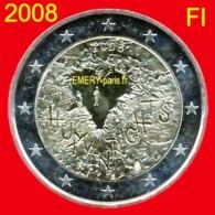 2 Euro FINLANDE 2008 Pièce Commémorative De 2,oo Euro, Le 60e Anniversaire De La Déclaration Universelle Des Droits De L - Finlande