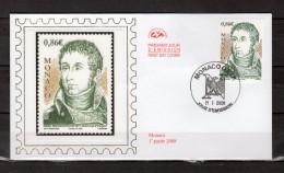 """Enveloppe 1er Jour En Soie De 2008 """" ANDRE MASSENA, MARECHAL D´EMPIRE / NAPOLEON """" N° YT 2617. Parfait état. FDC - Napoléon"""