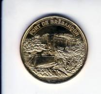 Jeton Médaille Monnaie De Paris MDP Fort De Brégançon 2015 - Monnaie De Paris