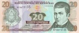 HONDURAS 20 LEMPIRAS 2006 P-93a UNC  [ HN93a ] - Honduras