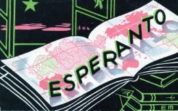 Carte Esperanto. Voyagée 1948. - Esperanto