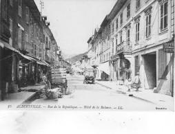 Albertville Rue De La Republique - Albertville
