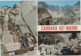 CPM:   CARRARA  (italie):   Multivues De La Carrière.     (A 4371) - Carrara