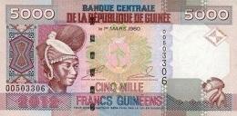 GUINEA 5000 FRANCS 2012 P-41b UNC  [ GN330b ] - Guinea