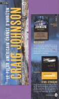 Marque-page °° Points Et Gallmeister - C. Johnson Molosses - 6x18 - Marcapáginas