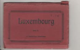 Luxembourg Carnet Incomplet De 8 Cartes - Ansichtskarten