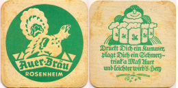 #105-200 Viltje Auer-Bräu Rosenheim - Sous-bocks