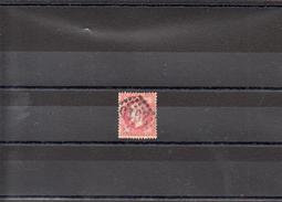 FRANCE 1867 N° 32 OBLITERE - 1863-1870 Napoléon III Lauré