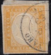 Sardegna, 80 Cent Ponte Del Varo, Nizza 1859 - Sardaigne