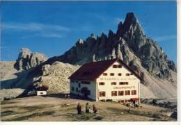 Rif. A. LOCATELLI E MONTE PATERNO, Dreizinnenhütt Mit Paternkofel , Panorama - Italia