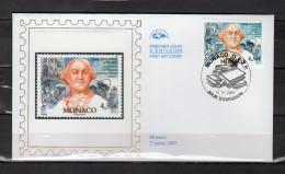 """(Faciale = 4.54 €) Enveloppe 1er Jour En Soie De 2007 """" CARLO GOLDONI, AUTEUR COMIQUE """" N°YT 2588. Parf. état. FDC - FDC"""