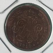 Belguim 2 Cent 1919 NL - 1909-1934: Albert I