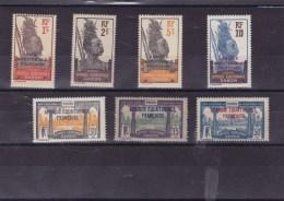GABON : Y&T : ** ; 88-89-91-93-98-99-102 - Gabon (1886-1936)
