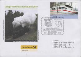 Dampf-Festival Neuenmarkt & Dampflok, Auflage 1000! SSt Neuenmarkt 22.5.2010 - BRD