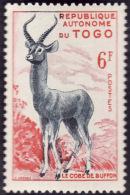 TOGO  1957 -  YT 268 - Cobe - République Autonome  - NEUF** - Togo (1960-...)