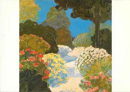 Tapisserie D'Aubusson D'après Le Carton De Muhl: Jardin D'été - Manufacture Pinton - Carte Non Circulée - Fine Arts