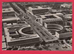 216241  / Roma ( Rome ) - E.U.R. VISTA DALL'ALTO , AIR PHOTO , 25 ANNIVERSARIO MAGAZZINI STANDA 1931 - 1956 , Italia - Non Classificati