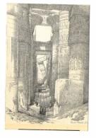 Egypte Colonne Karnak View Looking Across The Hall Of Columns Karnak - Egypt