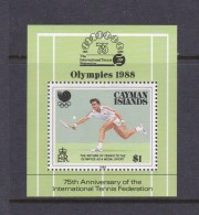 1988 Seoul Cayman Islands Olympic Miniature Sheet MNH - Ete 1988: Séoul