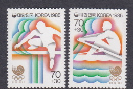 1988 Seoul Korea 1985 PreOlympic Games MNH - Summer 1988: Seoul
