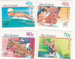 1988 Seoul New Zealand Olympic Sports MNH - Zomer 1988: Seoel