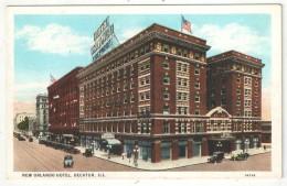 New Orlando Hotel, Decatur, Ill. - Etats-Unis