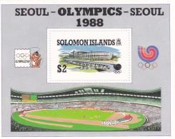 1988 Seoul Solomon Islands Miniature Sheet MNH - Zomer 1988: Seoel