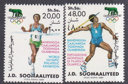 1988 Seoul Somalia 1987 Olymphilex 87 MNH - Summer 1988: Seoul