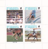 1988 Seoul St. Vincent Grenadines Miniature Sheet MNH - Summer 1988: Seoul
