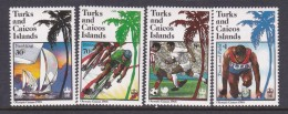 1988 Seoul Turks And Caicos Islands Olympic Set MNH - Summer 1988: Seoul