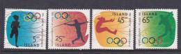 1996 Atlanta Iceland Olympic Games MNH - Summer 1996: Atlanta