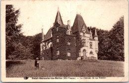 87 SAINT GERMAIN LES BELLES - Le Château De La Rivière (pli) - Saint Germain Les Belles
