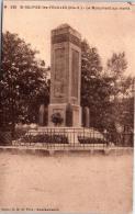 87 SAINT SULPICE LES FEUILLES - Le Monument Aux Morts - Saint Sulpice Les Feuilles