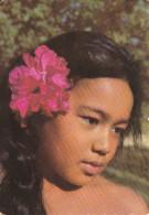 Tahiti--Jeune Tahitienne--1963---a, Le Mans, Francia - Tahiti