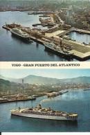 Vigo  Gran Puerto Del Atlantico  2 Vues - Altri