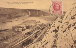 Yvoir - Panorama Du Quartier De La Gare Pris Des Rochers De Champalle - 1923 - Yvoir
