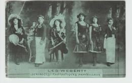 LES WEBERTY - ACROBATES FANTASTIQUES MERVEILLEUX - CIRQUE - Zirkus