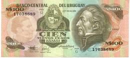Uruguay P.62a 500 Pesos 1987 Xf - Uruguay