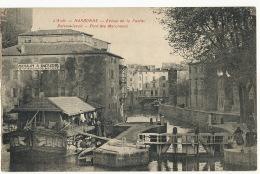 Bateau Lavoir Et Moulin A Eau Ecluse Robine Narbonne - Altri