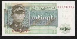 MYANMAR  P56   1   KYAT    1972    UNC. - Myanmar