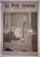 Le Petit Journal 19/12/1897 Général De Pellieux Et Le Commandant Esterhazy - Le Procès Pierre Vaux : Réhabilitation - 1850 - 1899