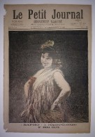 """Le Petit Journal 12/12/1897 """"Sapho"""" à L'opéra Comique Mlle Emma Calvé - Autriche Séance Au Reichsrath De Vienne - Journaux - Quotidiens"""