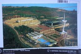 Estadio Montjuic. Barcelona - Stade - Stadium - Old Postcard - Stades