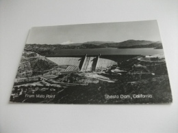 DIGA  FROM VISTA POINT SHASTA DAM CALIFORNIA 1953 U.S.A. - Châteaux D'eau & éoliennes