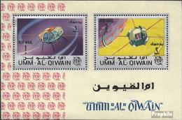 Umm Al Kaiwain Block5A (kompl.Ausg.) Postfrisch 1966 Internat. Fernmeldeunion - Umm Al-Qaiwain